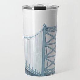 The Ben Franklin Bridge Travel Mug