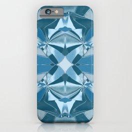 Abstract Blue Mandala 1191 iPhone Case