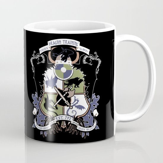 Dragon Training Crest - How to Train Your Dragon Mug
