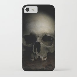 Male skull iPhone Case