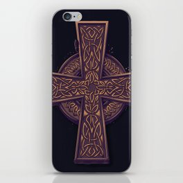 Celtic Cross iPhone Skin