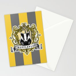Hufflepuff Color Stationery Cards