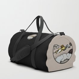 Message in the Air Duffle Bag