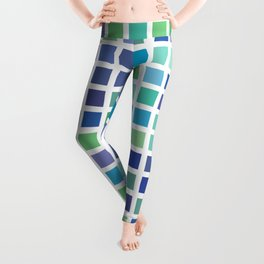 City Blocks - Ocean #889 Leggings