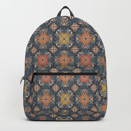 Mexican Tile Backpack