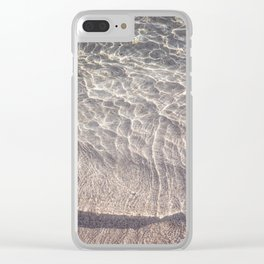 Water Reflections Photography Clear iPhone Case