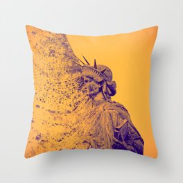 Evanescent freedom  - Life is now Throw Pillow