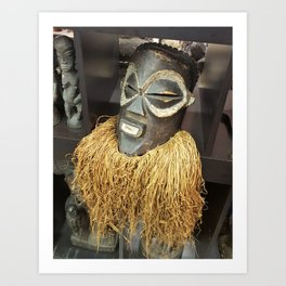 African Mask #2 Art Print