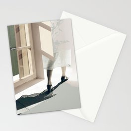 Leaving my shadow Stationery Cards