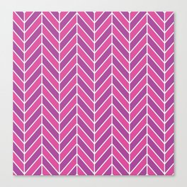 Crazy and cool colorful pattern Canvas Print