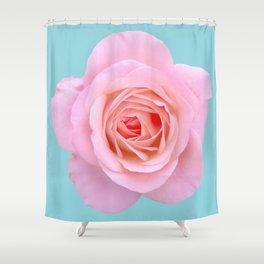 bed of roses: robin's egg blue sky Shower Curtain