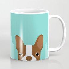 Red Boston Terrier Mug