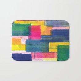 Color Block Series: Rooftops Bath Mat