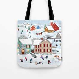 Once Upon a Winter Tote Bag