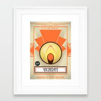 bioshock Framed Art Prints featuring Incinerate - Bioshock by TomStreetArt