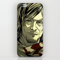 daryl iPhone & iPod Skins featuring Daryl Dixon by David Cousens