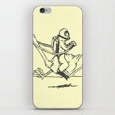 Ostrich Scuba Rider iPhone & iPod Skin
