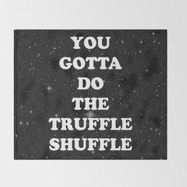 truffle shuffle Throw Blanket