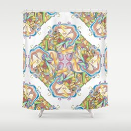 Symbiosis Shower Curtain