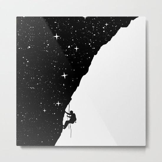 night climbing Metal Print