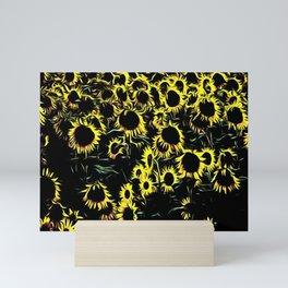 Field of Sunflowers Mini Art Print