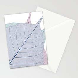 Leaf Design Stationery Cards