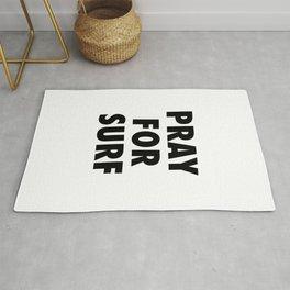 Pray for surf Rug