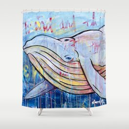 itsWhale Shower Curtain