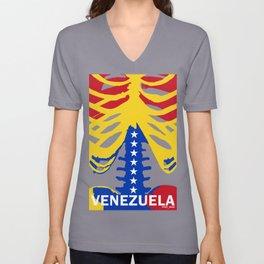 VENEZUELA X-RAYS Unisex V-Neck