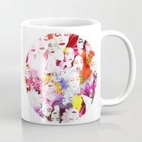 ultraviolence Mugs featuring Ultraviolence by Kat Heroine
