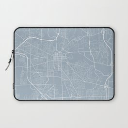 Ann Arbor Map, USA - Slate Laptop Sleeve