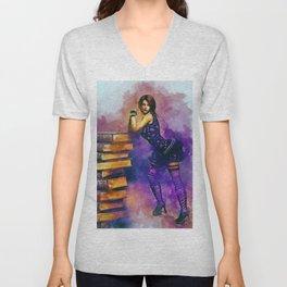 Fashion Bookworm Unisex V-Neck