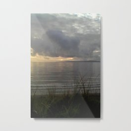 at the end of the day. Metal Print