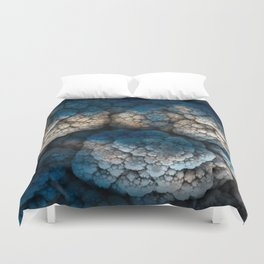 Celestial Cauliflower Kiss Duvet Cover