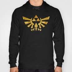 Zelda Golden Hylian Crest Hoody