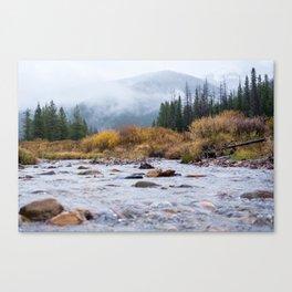 Mountain River Canvas Print