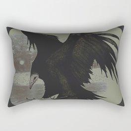 Atrophy Rectangular Pillow