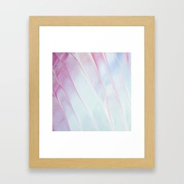 Abstract Pastel Painting Framed Art Print