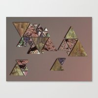 mineral Canvas Prints featuring mineral by Elva Salinas