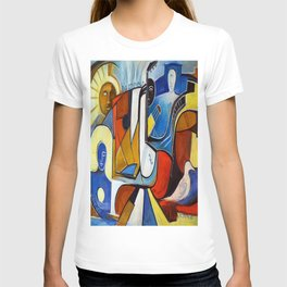 La Vie est Belle en Couleurs Primaires T-shirt