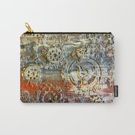 Mechanical Gear Abstract Carry-All Pouch