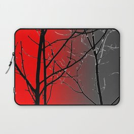 Red And Gray Laptop Sleeve