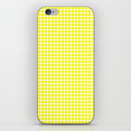 YELLOW DOT iPhone & iPod Skin