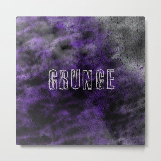 Grunge Print Metal Print