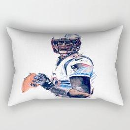 """""""GOAT"""" featuring Legend Tom Brady Rectangular Pillow"""