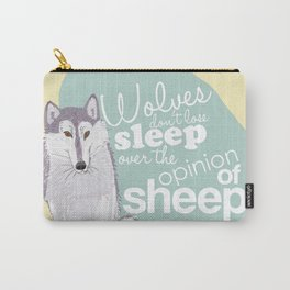 Wolves and Sheep Carry-All Pouch