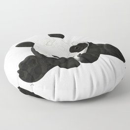 Lace Agate Panda Floor Pillow