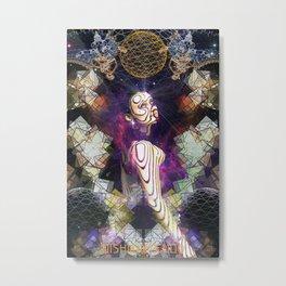 Shanti Om Metal Print