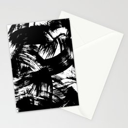 Brush Strokes Stationery Cards