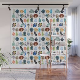 Illuminated Structure: Mineral Party 1 Wall Mural